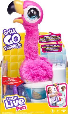 Little Live Pets Gotta Go Flamingo Sherbet, interaktiv rosa