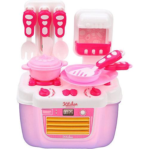 """Игровой набор Наша Игрушка """"Плита с  посудой"""", 21 предмет от Наша Игрушка"""