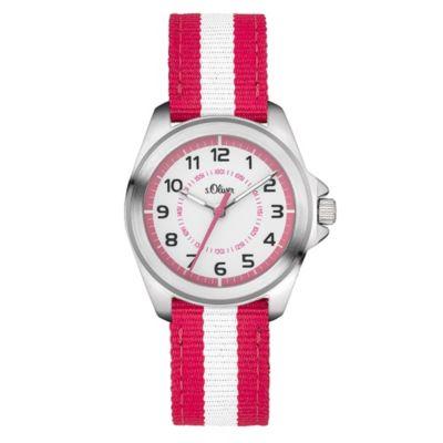 Analoge Kinder-Armbanduhr von s.Oliver