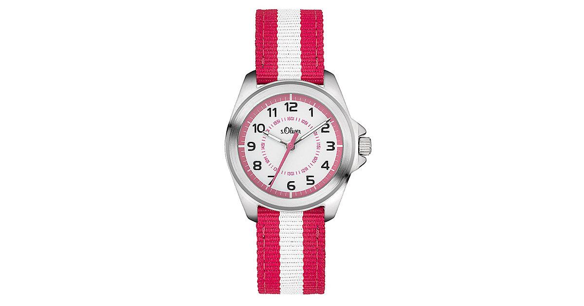 Armbanduhr SO-3402-LQ Analoguhren Kinder pink  Kinder
