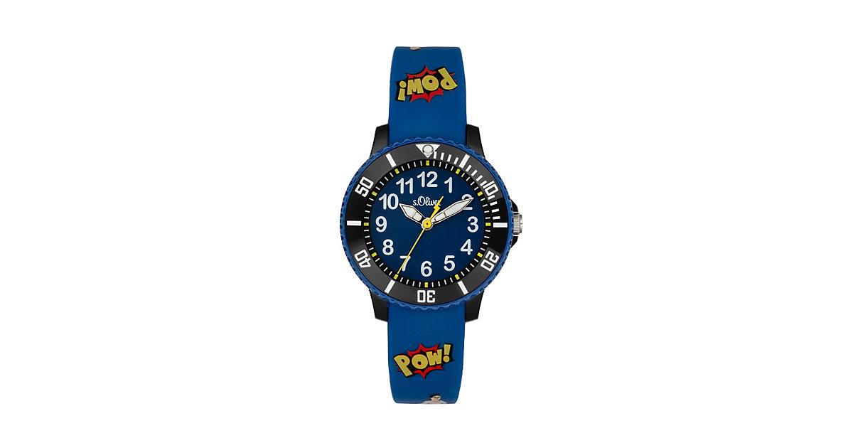 Armbanduhr SO-4002-PQ Analoguhren Kinder blau  Kinder