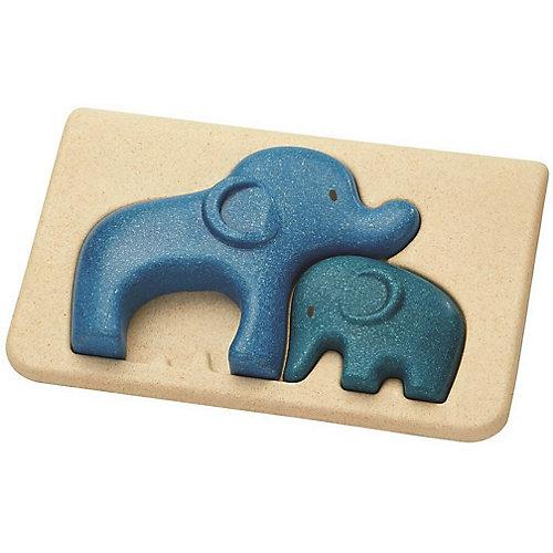 Рамка-вкладыш Plan Toys Слоники от PLANTOYS