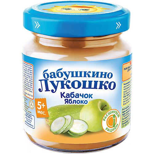 Пюре Бабушкино Лукошко кабачок яблоко, с 5 мес, 6 шт х 100 г от Бабушкино Лукошко