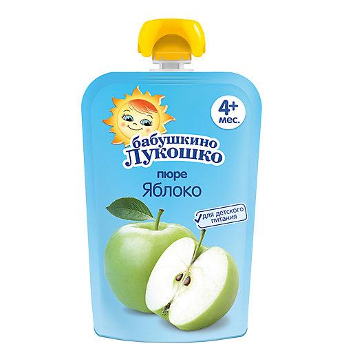 Пюре Бабушкино Лукошко яблоко, с 4 мес, 12 шт х 90 г от Бабушкино Лукошко