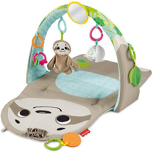 Развивающий коврик Fisher-Price Ленивец - разноцветный от Mattel