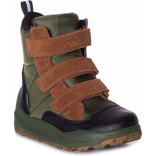 Утепленные ботинки Woden - зеленый от Woden