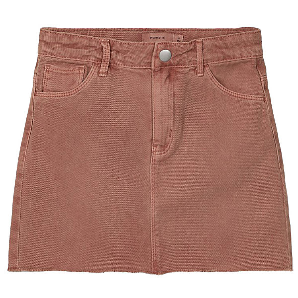 Kinder Jeansrock NKFIZZA, Organic Cotton