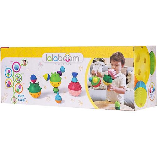 Тактильные развивающие шары Lalaboom, 3 шт от Lalaboom