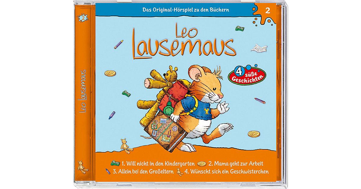 CD Leo Lausemaus 02 (...will nicht in den Kindergarten) Hörbuch