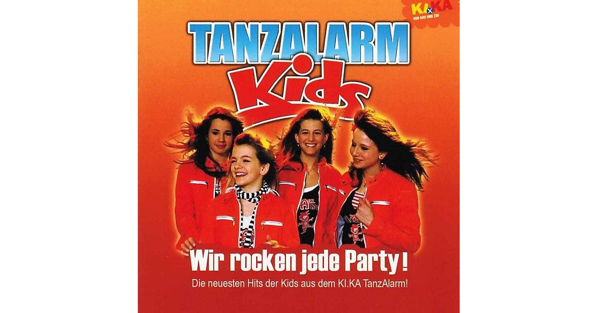 CD KiKa Tanzalarm Kids - Wir rocken jede Party