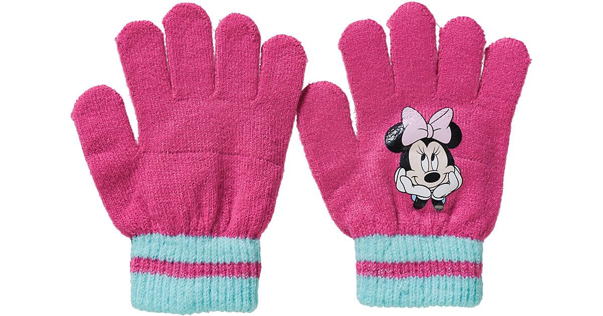 Disney Minnie Mouse Fingerhandschuhe  pink Gr. one size Mädchen Kinder