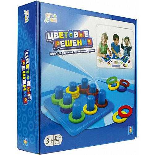 Игра настольная 1Toy Цветовые решения от 1Toy
