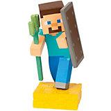 Фигурка Minecraft Adventure figures Steve 4 серия, 10 см
