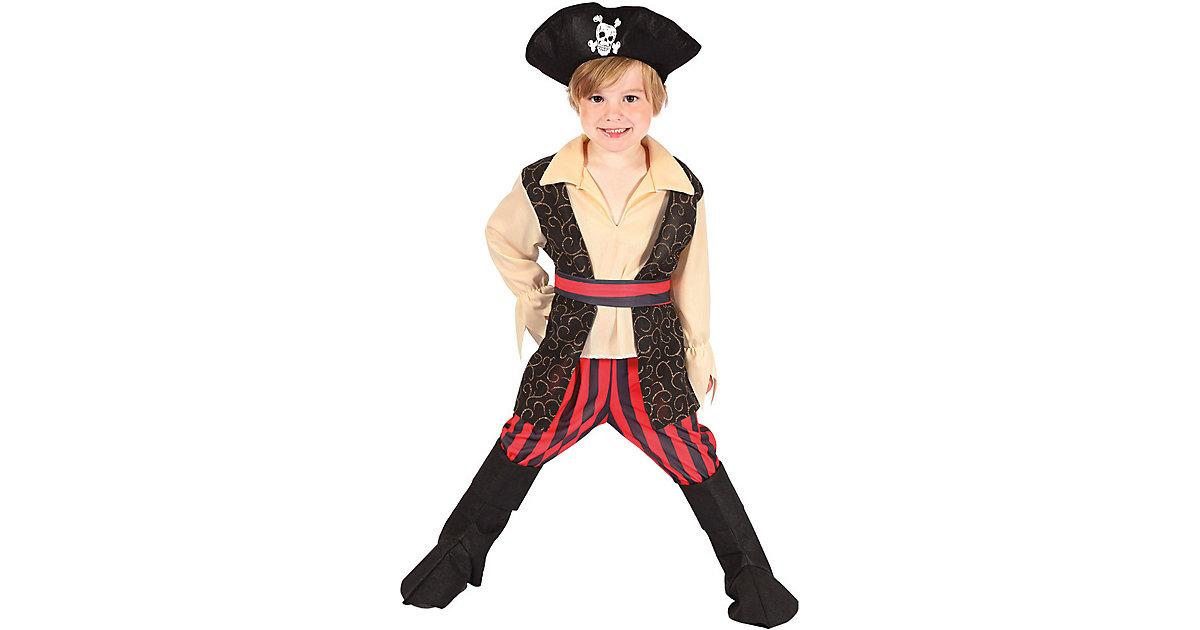 Kinderkostüm Pirat Rocco (3-4 Jahre) mehrfarbig Gr. 104 Jungen Kleinkinder