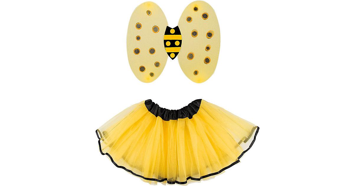 Honigbiene de luxe Set (Flügel und Tutu) Mädchen Kinder