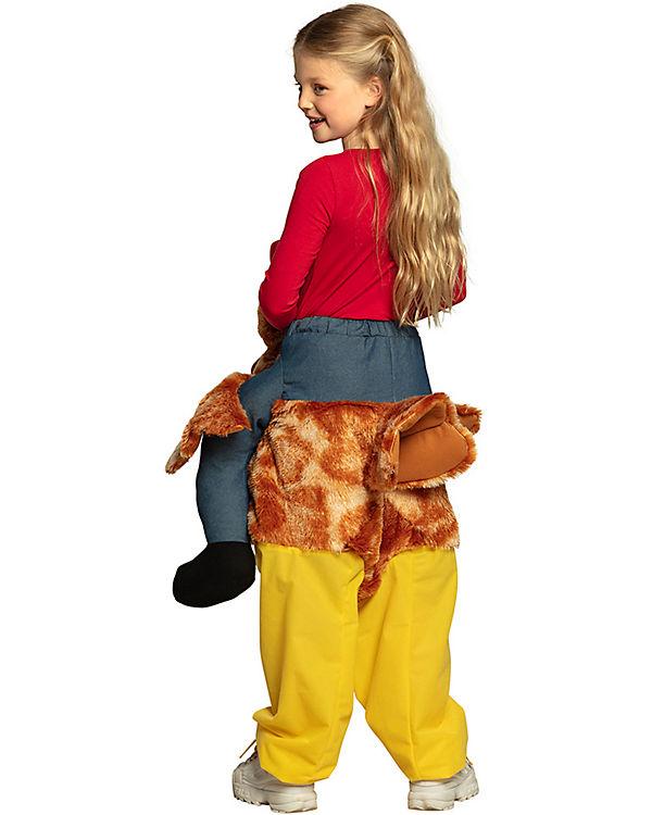 Kinderkostüm Auf einem Huhn (Einheitsgröße), Boland HYeqU7