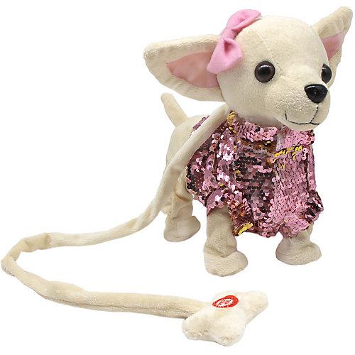 Мягкая игрушка Пушистые друзья Собачка, звук от Пушистые друзья