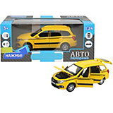 Машинка Автопанорама Lada Granta Cross Такси, 1:24