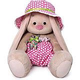 Мягкая игрушка Budi Basa Зайка Ми в шляпе с мишкой, 18 см