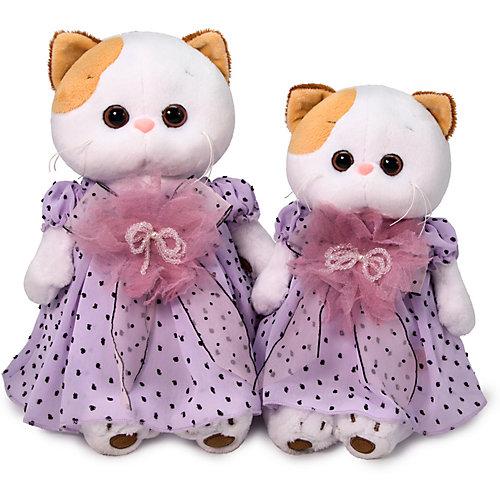 Мягкая игрушка Budi Basa Кошечка Ли-Ли в нежно-сиреневом платье, 24 см от Budi Basa