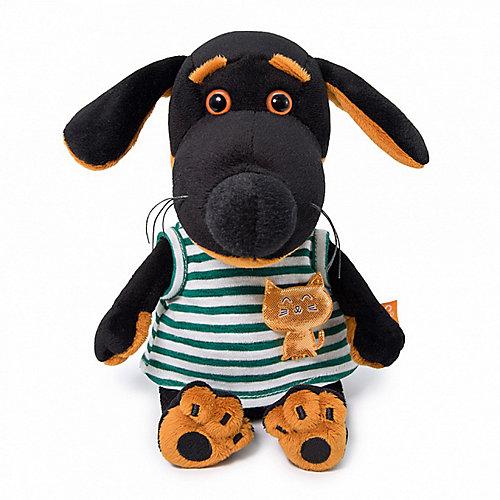 Мягкая игрушка Budi Basa Собачка Ваксон Baby в футболке с кошечкой, 20 см от Budi Basa