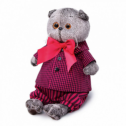 Мягкая игрушка Budi Basa Кот Басик в рубашке и штанах, 22 см от Budi Basa