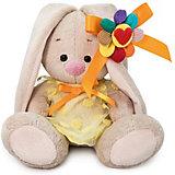 Мягкая игрушка Budi Basa Зайка Ми в  платьем с семицветиком, 15 см