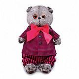Мягкая игрушка Budi Basa Кот Басик в рубашке и штанах, 19 см