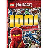 Книга с наклейками LEGO Ninjago Защитники мира Ниндзяго