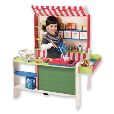 kaufladen aus holz fur kinder. Black Bedroom Furniture Sets. Home Design Ideas