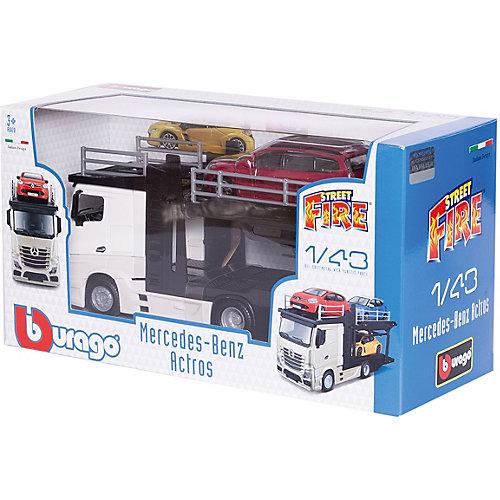 Игровой набор Bburago Street fire Mercedes-benz actros, 1:43 от Bburago