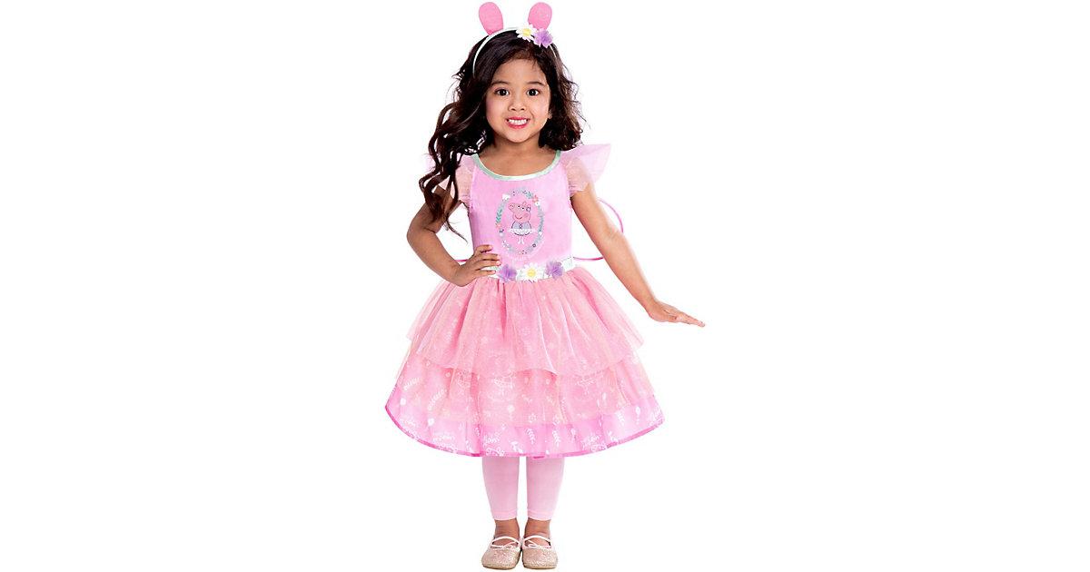 Kinderkostüm Peppa Fairy Dress 2-3 Jahre rosa Gr. 92/98 Mädchen Kleinkinder