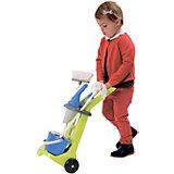 Тележка для уборки Ecoiffier с пылесосом и аксессуарами