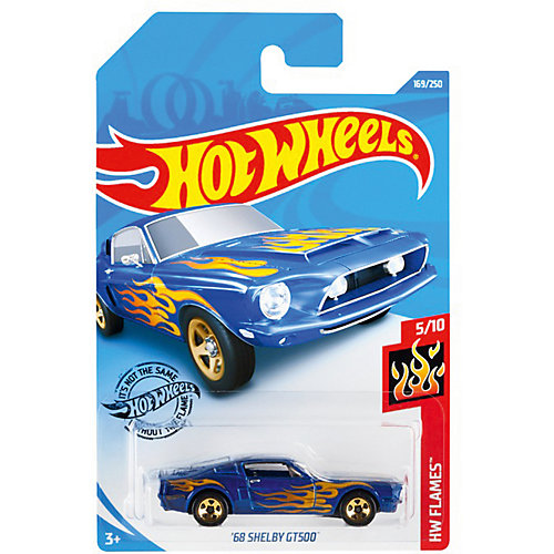 Базовая машинка Hot Wheels 68 Shelby GT500 от Mattel