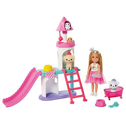 """Игровой набор Barbie """"Приключения принцессы Челси"""" Домик для домашних животных от Mattel"""