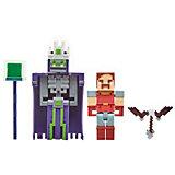 """Набор фигурок Minecraft """"Подземелье"""" Безымянный и Хал"""
