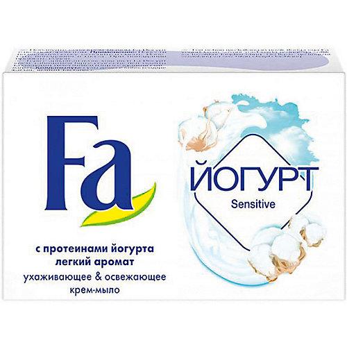 Мыло туалетное FA Йогурт для чувствительной кожи, 90 г
