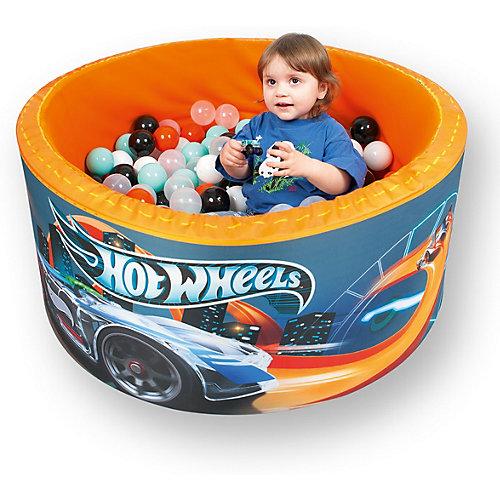 """Сухой бассейн Hotenok Hot Wheels """"Гонки по крышам"""" с шариками от Hotenok"""