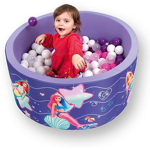 """Сухой бассейн Hotenok Barbie """"Сказочная вечеринка"""" с шариками от Hotenok"""