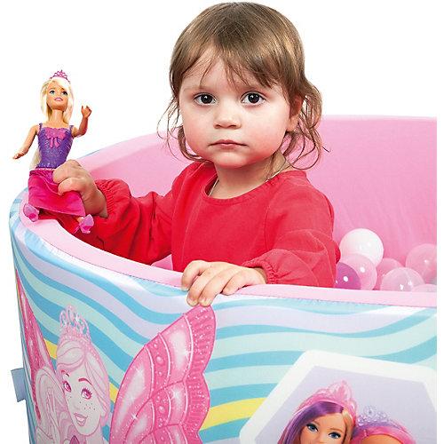 """Сухой бассейн Hotenok Barbie """"Сказочная история"""" с шариками от Hotenok"""