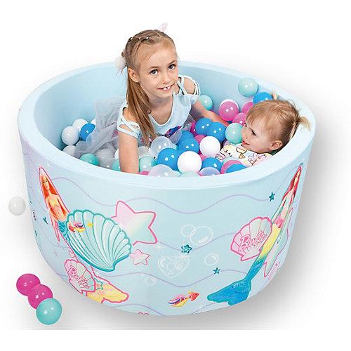"""Сухой бассейн Hotenok Barbie """"Подводная сказка"""" с шариками от Hotenok"""