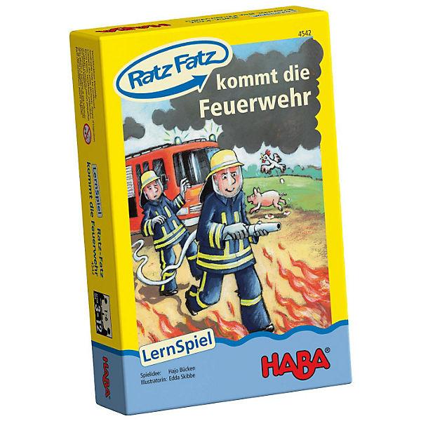 Ratz Fatz kommt die Feuerwehr, Haba