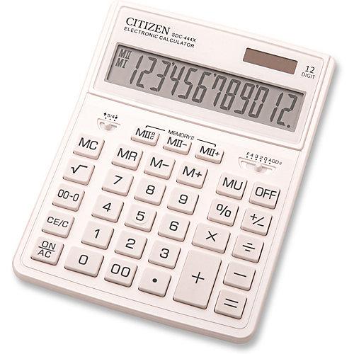 Калькулятор настольный Citizen SDC-444XRWHE - weiß/beige от Citizen