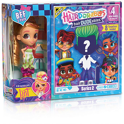 Куколки Мальчик и девочка Hairdorables Сладкая парочка от Hairdorables