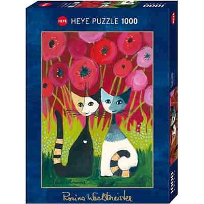 Puzzle Poppy Canopy * ,1000 Teile