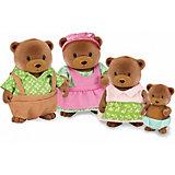 """Игровой набор Li'l Woodzeez """"Семья медвежат"""""""