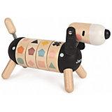 """Развивающая игрушка Janod Sweet Cocoon """"Собачка. Учу цвета и формы"""""""