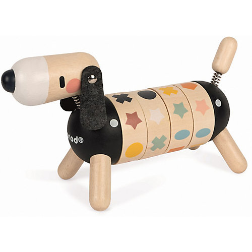 "Развивающая игрушка Janod Sweet Cocoon ""Собачка. Учу цвета и формы"" от Janod"