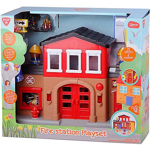 """Игровой набор Playgo """"Пожарная станция"""" от Playgo"""