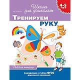 """Рабочая тетрадь """"4-5 лет: Тренируем руку"""", Тимофеева И."""